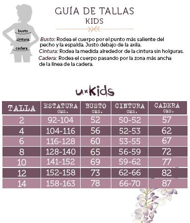Tallas Kids